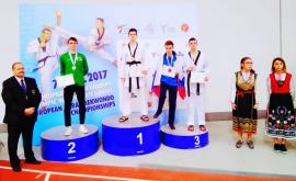 Moldovenii au cucerit două medalii la Europenele de Taekwondo (FOTO)