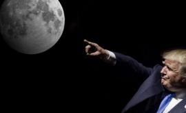 Donald Trump vrea să trimită astronauţii americani pe Lună