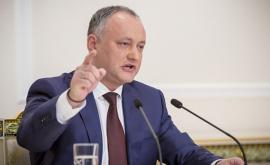 Igor Dodon a refuzat să declare 16 decembrie zi de doliu național