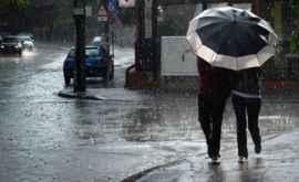 Meteorologii au emis cod galben de vînt şi precipitaţii