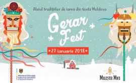 Festivalul Gerar Fest se amână pe 27 ianuarie