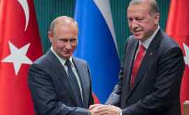 Putin şi Erdogan au discutat telefonic