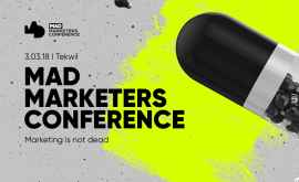 "Conferința pentru digital-marketologi ""Mad Marketers """