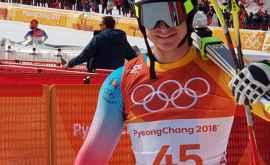Republica Moldova s-a clasat pe locul 40 la schi alpin