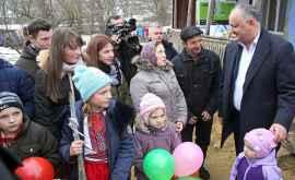 Cum își sărbătorește președintele Dodon ziua de naștere