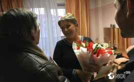 Surpriza moldovenească pentru Elena Proklova la Chișinău (FOTO)