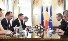 Iurie Leancă s-a întîlnit cu preşedintele României. Despre ce au discutat