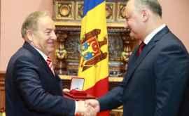 Ordinul de Onoare, pentru un fost ambasador turc în Moldova