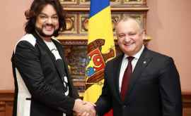 Dodon s-a întîlnit cu Kirkorov