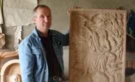 Vasile Adam - sculptura în lemn te îmbogăţeşte spiritual (FOTO)