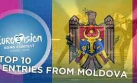 Top 10 cele mai bune evoluții ale Moldovei la Eurovision (VIDEO)
