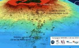 Savanţii au descoperit un vulcan subacvatic activ în Oceanul Indian, format în ultimele 6 luni!