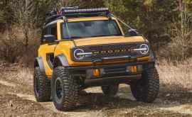 Ford a prezentat noua generație a modelului pentru off-road Bronco