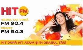 FM 94.3 - Edineț, FM 90.4 - Vadul lui Vodă: postul de radio HIT FM și-a extins raza de acoperire