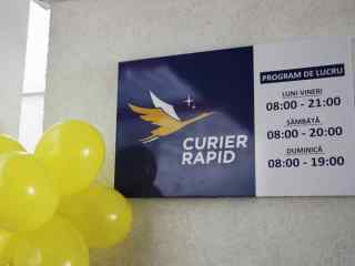 """Serviciul """"Curier Rapid"""" are acum oficiu nou pentru a-și desfășura eficient activitatea"""