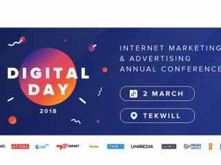 DigitalDay 2018: o conferință care reunește profesioniștii în domeniul publicității online!