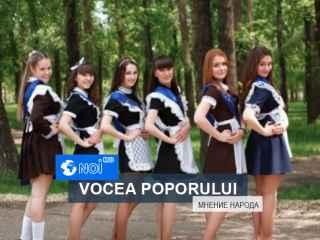 Vox populi: Uniforma școlară va aduce mai multă disciplină în școlile din țară (VIDEO)