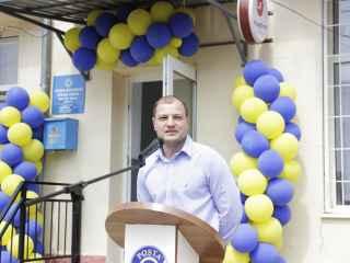 """Î.S. """"Poșta Moldovei"""" a deschis un nou oficiu în s. Răzeni, Ialoveni"""