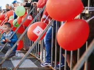 (FOTO) 15 fotografii care arată cum s-au distrat chișinăuienii de Ziua Orașului alături de Kaufland!