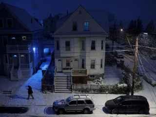 Zone întregi din SUA, acoperite de un strat gros de zăpadă (VIDEO)