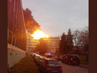 Explozie la o universitate din Franța (VIDEO)