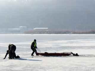 Doi adolescenți s-au prăbușit în lacul din parcul Valea Morilor (VIDEO)