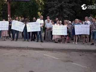 """Chișinăuienii nu își doresc o benzinărie în parcul """"Alunelul"""" (VIDEO)"""