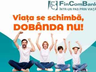 """Depozit """"STABIL"""" cu rată fixă de la FinComBank. Viaţa se schimbă, dobânda nu"""