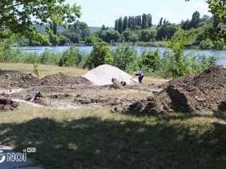 """În parcul """"La Izvor"""" din capitală va apărea o nouă construcție (FOTO, VIDEO)"""