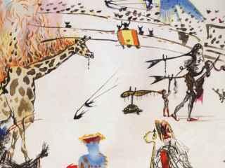 Вор вынес из галереи картину Сальвадора Дали (ВИДЕО)