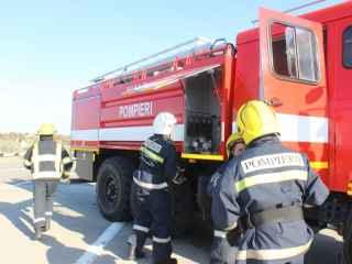 Sute de salvatori și pompieri IGSU ridicați pe alertă (VIDEO)