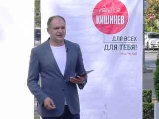 Ion Ceban ține un briefing după închiderea secțiilor de votare (LIVE)