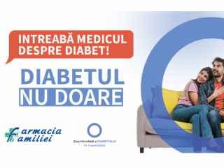 14 – 15 noiembrie, Farmacia Familiei - măsoară grauit glicemia în toată țara
