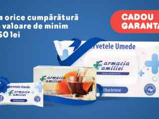 Farmacia Familiei te răsplătește pentru fidelitate cu cadouri garantate!