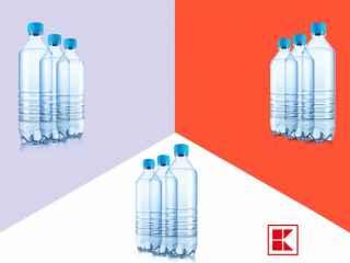 Fii parte la campania 3X3: Tu cumperi mai multă apă, iar Kaufland donează aceeași cantitate