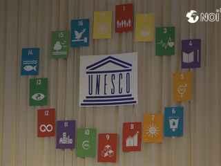 """În liceul """"Mihai Grecu"""" din capitală s-a desfășurat conferința UNESCO (VIDEO)"""