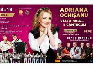 """""""Viața mea…e cântecul!"""" - un concert așteptat de 4 ani. Adriana Ochișanu își invită fanii la 2 zile de spectacol plin de emoții"""