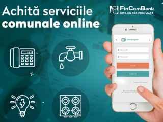 Achită facturile online, utilizând platformele FINCOMBANK