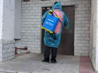 Более 600 человек задействованы в процессе дезинфекции города (ФОТО, ВИДЕО)