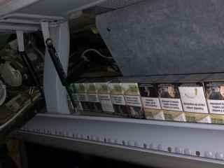 Автобус с контрабандными сигаретами задержан на таможне в Леушенах (ВИДЕО)