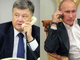 Kremlinul a comentat înregistrarea conversației dintre Putin și Poroșenko