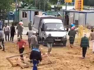 La Moscova a avut loc o bătaie în masă între lucrători