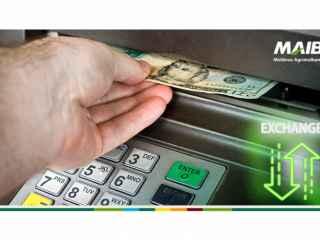 Что делать, когда закончились деньги? Правильно - подойди к банкомату и обменять доллары