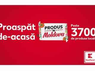 Kaufland запускает кампанию «Proaspăt de acasă. Produs în Moldova» / «Свежее домашнее. Сделано в Молдове»