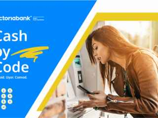 Cash by Code – încă o inovație digitală la Victoriabank