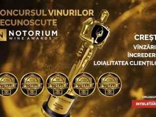 Ultimele zile de voting în concursul NOTORIUM Wine Awards