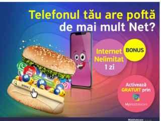 Descarcă aplicația MyMoldtelecom și activează Bonusurile Internet Nelimitat 1 zi și Grila maximă de canale TV timp de 30 de zile