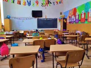 Un învățător din Ocnița le spune elevilor să voteze pentru Maia Sandu (VIDEO)