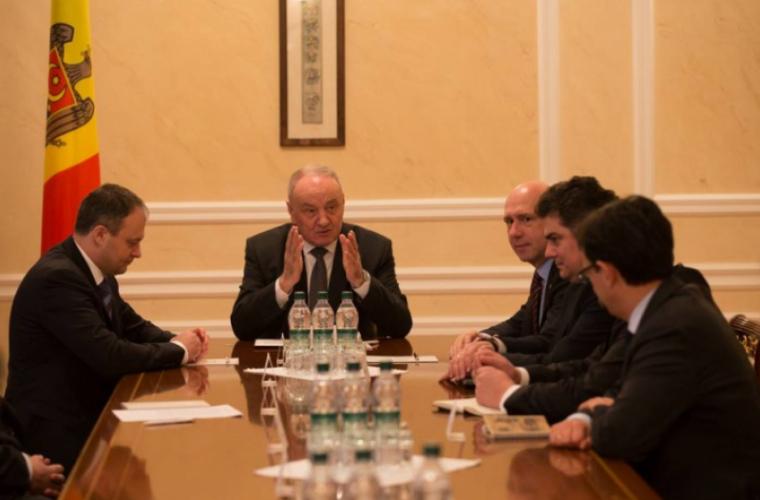 Ultima ședință a Consiliul Suprem de Securitate, prezidată de Timofti