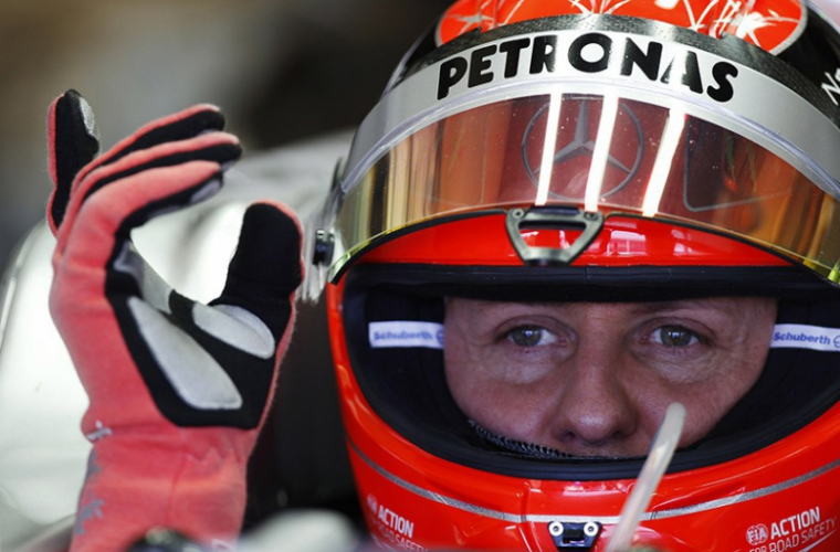 Michael Schumacher, omagiat. Care este starea lui de sănătate